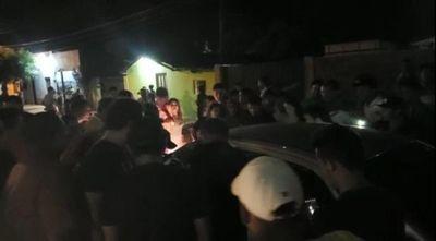 Atentan a balazos contra un hombre en el barrio San Juan Neuman