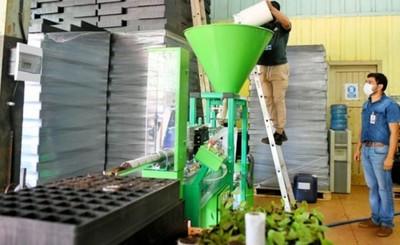 Produjeron casi 10.000 tubetes biodegradables para distintos plantines