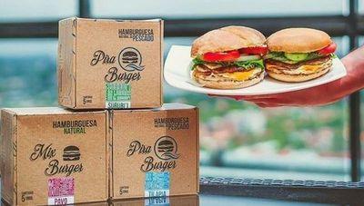Ahumpar, firma nacional que se distingue por sus hamburguesas de surubí, tilapia, cerdo, pavo y pollo
