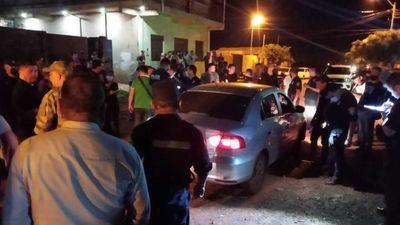 Acribillan a policía dentro de su vehículo en Pedro Juan Caballero
