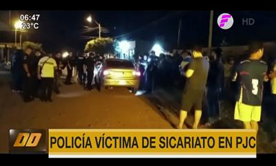 Policía víctima de sicariato en Pedro Juan Caballero