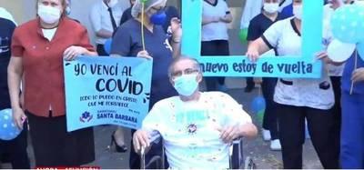 ESTUVO LUCHANDO 94 DÍAS EN TERAPIA POR COVID Y LO VENCIÓ