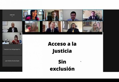 Panel Internacional: Juristas coinciden en la importancia de la tecnología