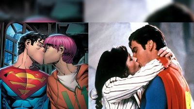 Nuevo Superman besa a su amigo en cómic yanqui y causa enojo
