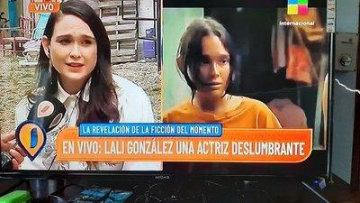 "El furor de Lali González en la Argentina: ""La paraguaya que cautivó a los argentinos"" (video)"