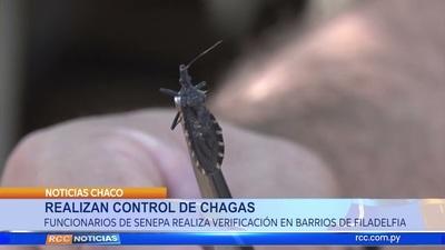 Realizan Control de Chagas