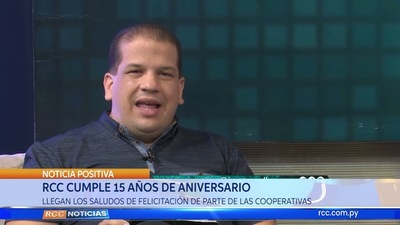 RCC CUMPLE 15 AÑOS DE ANIVERSARIO