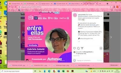 """ENTRE ELLAS: Conocemos a Gabriela Sabaté, productora de """"Matar a un muerto"""""""