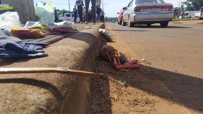 Niño que vendía limones falleció arrollado en avenida encarnacena