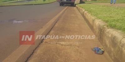 NIÑO INDÍGENA FALLECE ATROPELLADO EN ENCARNACIÓN.