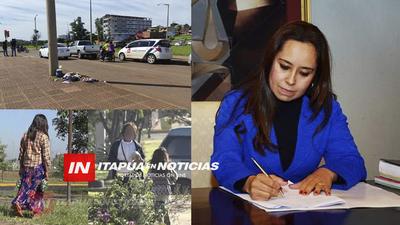 FISCAL ORDENA DETENCIÓN DE MADRE INDÍGENA Y DEL CONDUCTOR DEL VEHÍCULO.