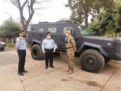 Amplían presupuesto a FTC para que compre vehículos blindados