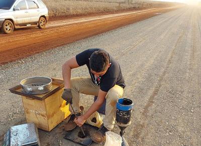 Alto Paraná: obras en el acceso a Puerto Torocuá rondan el 45% de avance