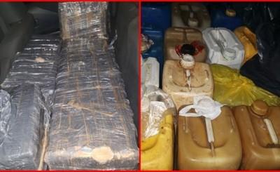 Incautan mercaderías de contrabando ingresadas desde la Argentina