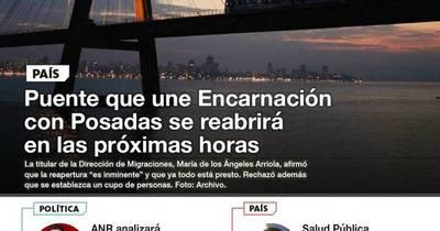 La Nación / LN PM: Las noticias más relevantes de la siesta del 13 de octubre