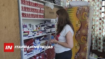 HOSPITAL PEDIÁTRICO DONÓ UN LOTE DE MEDICAMENTOS A LA SÉPTIMA.