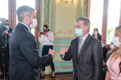 Mario Abdo exige resultados a Giuzzio en la lucha contra la inseguridad