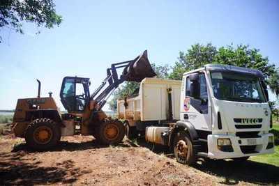 Inician limpieza en futura playa municipal de Hernandarias