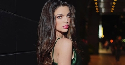 Apareció una modelo idéntica a Nadia Ferreira y también se postula al Miss Universe