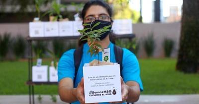 """Con música y delivery de arbolitos, """"Somos H2O"""" echó raíces en Asunción"""