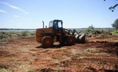 Arrancan los trabajos en la futura playa municipal de Hernandarias