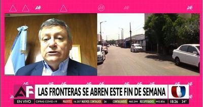 Fronteras con Argentina se abrirían este fin de semana, según embajador