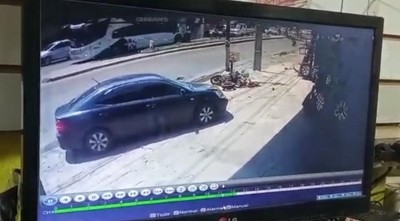 Según video de circuito cerrado: Policía que mató al joven motociclista hizo giro indebido