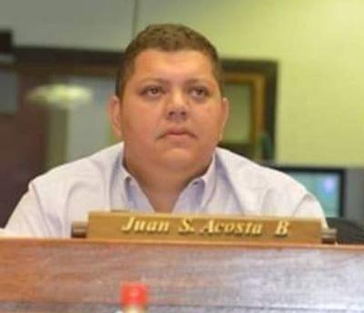Juancho Acosta todavía no dijo ni una sola palabra sobre la ola de violencia en Amambay