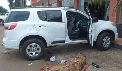 Balas de Dimabel fueron usadas para el atentado en Pedro Juan Caballero