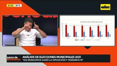 Este es un resultado importante que tuvo el partido, dice Efraín Alegre