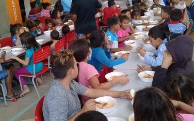 15.000 niñas, niños y adolescentes fueron atendidos por la Dirección de Gestión y Reducción de Riesgos