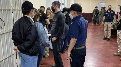 Allanan carcel de Pedro Juan Caballero donde una comitiva  busca elementos relacionados al cuádruple crimen