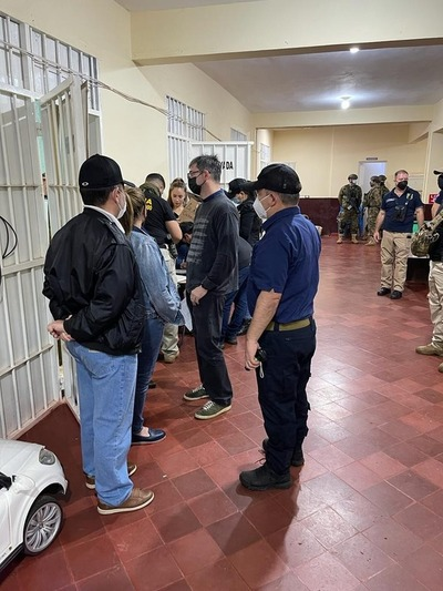 Cuádruple crimen en PJC: Allanan celda se posible autor