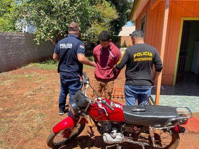 Atrapan a delincuente con dos capturas pendientes y frondosos antecedentes en la zona de San Alberto