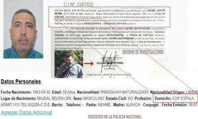 Despachante libanés detenido y luego liberado por agentes de Investigación usa datos falsos – Diario TNPRESS