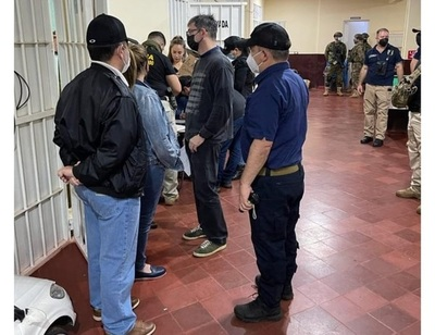 Allanaron cárcel de Pedro Juan Caballero en investigación de cuádruple homicidio
