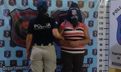 Detienen a mujer que prostituía a su propia hija de 14 años en Juan E. O´Leary.