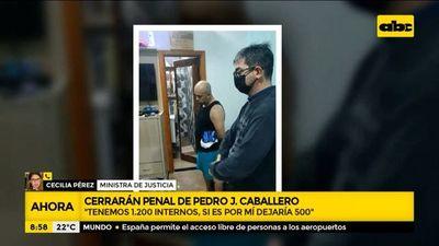 Cerrarán penal de Pedro Juan Caballero