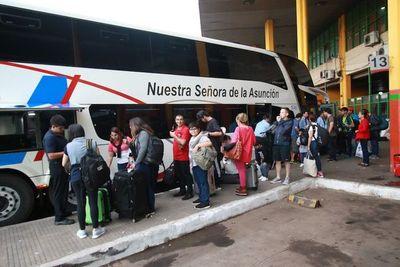 Cámara Paraguaya de Transporte Internacional anunció que desde el 15 de noviembre se reanudan las salidas a Buenos Aires