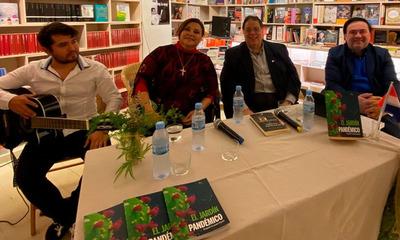 Benjamín Fernández y Lizza Bogado presentan en Europa la obra «El Jardín Pandémico»
