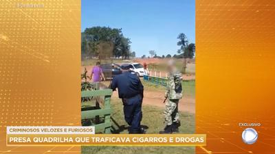 TV brasileña muestra cómo militar y policía paraguayo ocultan criminales