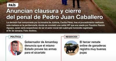 La Nación / LN PM: Las noticias más relevantes del 14 de octubre