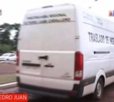 Presunto capo narco es trasladado a la Agrupación Especializada