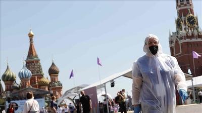 Doble récord de casos y muertes por coronavirus en un día en Rusia