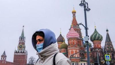 Rusia marcó doble récord de casos y muertes por coronavirus