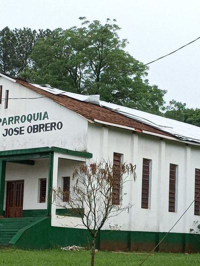 Temporal dañó unas 200 viviendas en Edelira