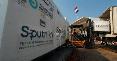 La Nación / Con el arribo de las 308.000 Sputnik V, Paraguay completa el segundo componente pendiente