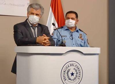 Senado convoca a Giuzzio y al comandante de la Policía por la ola de inseguridad