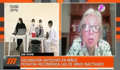 Pediatras recomiendan vacunas de virus inactivado para niños