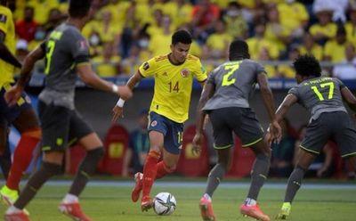 Colombia y Ecuador empatan en un juego marcado por el VAR